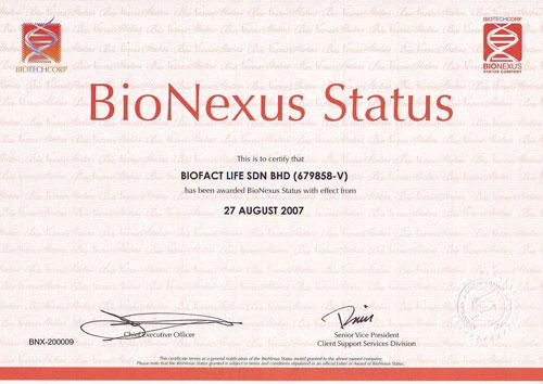 BioNexus-Cert