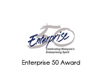 Biofact Life was one of the winners in Enterprise 50 Award of SME Corp in 2010 and 2011.